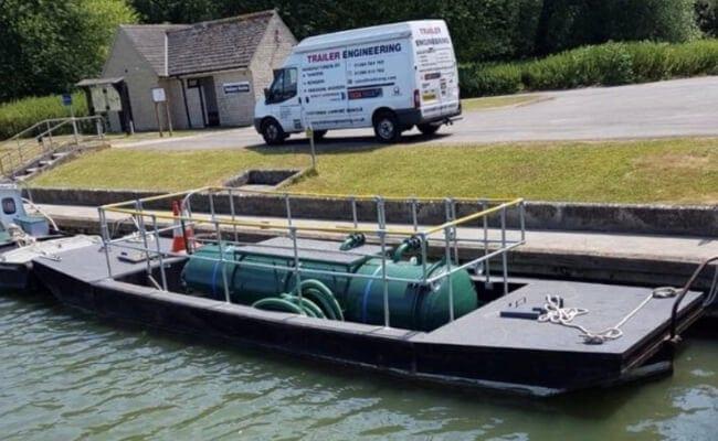 1250 Gallon vacuum tanker