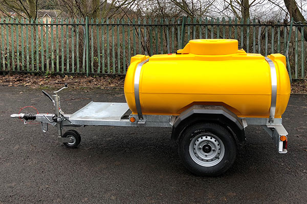 1125 Litre Water EU Highway Bowser cw Extended Chassis