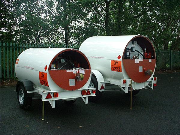 2140 Litre U.N. Approved Bunded Jet A1 EU Highway Bowser