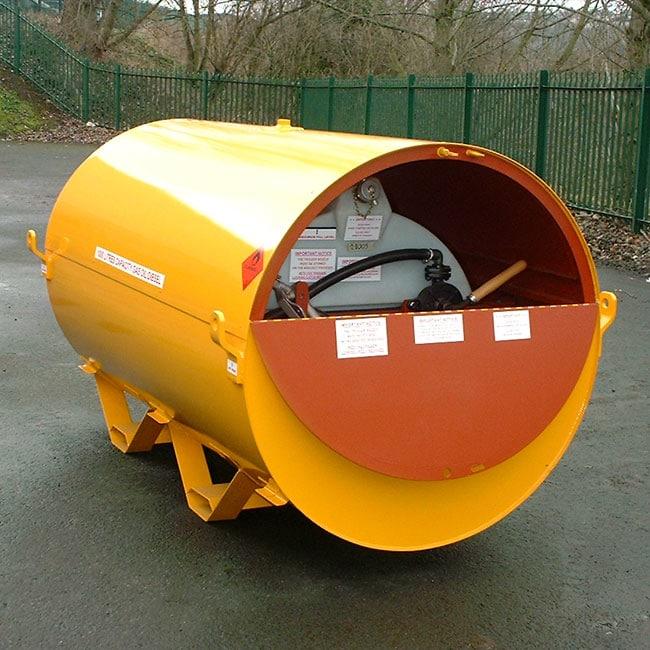 950 Litre UN Approved Bunded Diesel Skid Base