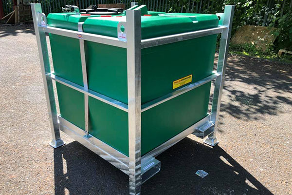 985 Litre Waste Water Cube