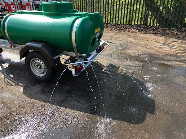 Spray Bar on Water Bowsers