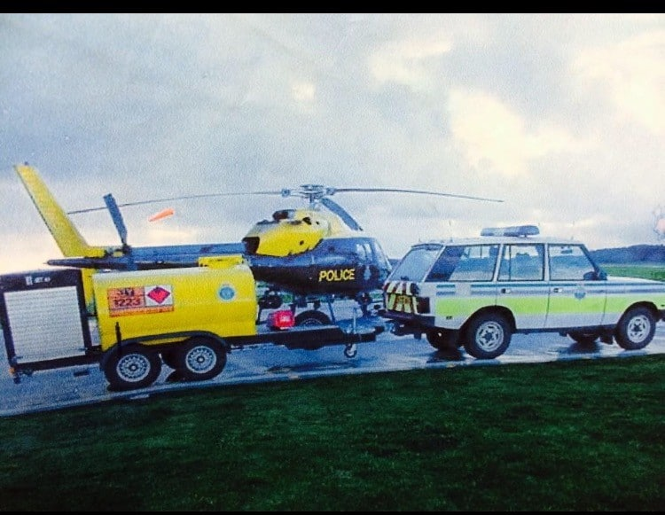 NPAS Police Helicopter Jet A1 Bowser