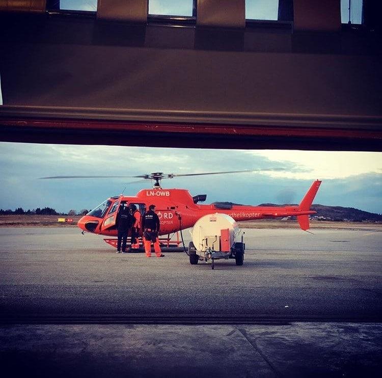 Nord Helikopters Jeta1 Fuel Trailer
