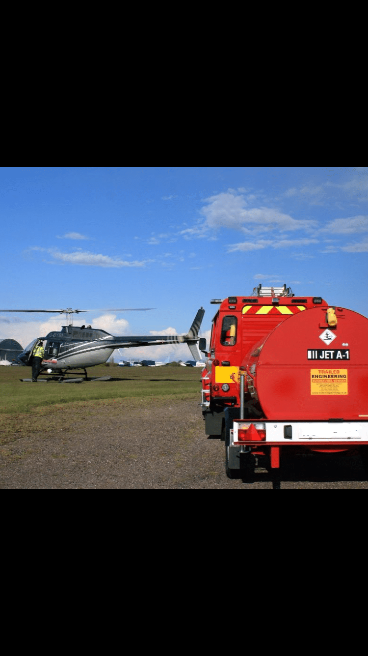 North Weald Fire Rescue Helicopter Jet A1