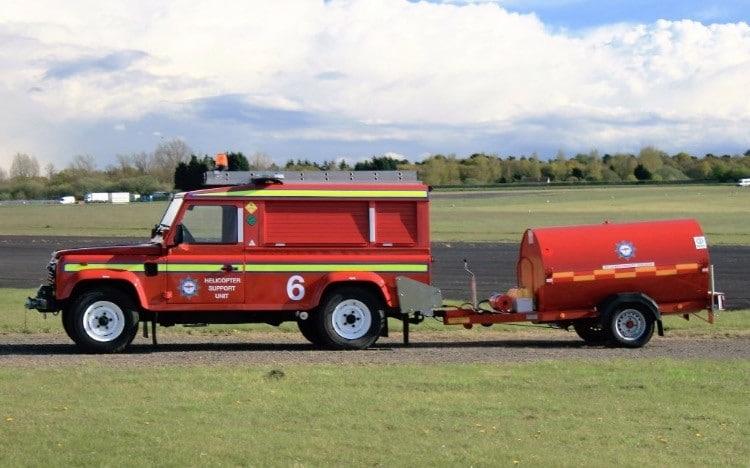 North Weald Jeta1 Fuel Bowser