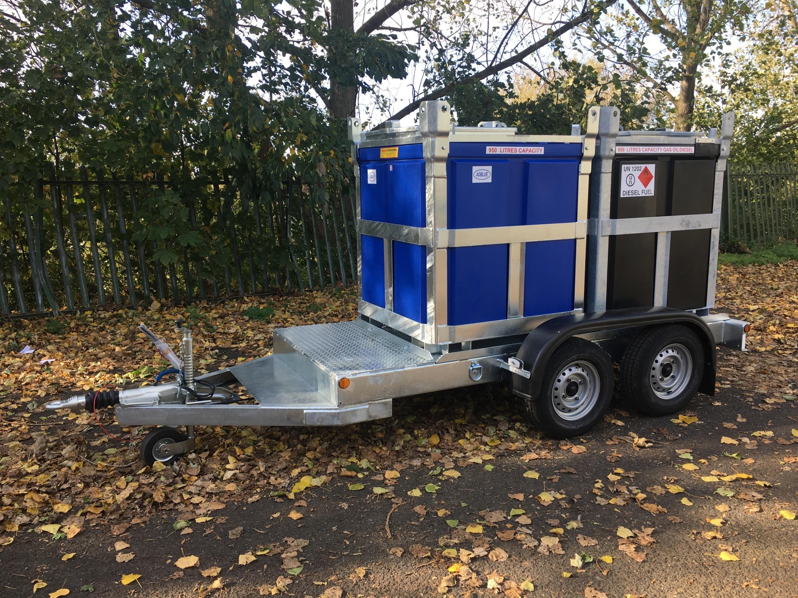 Twin Fuel cube trailer