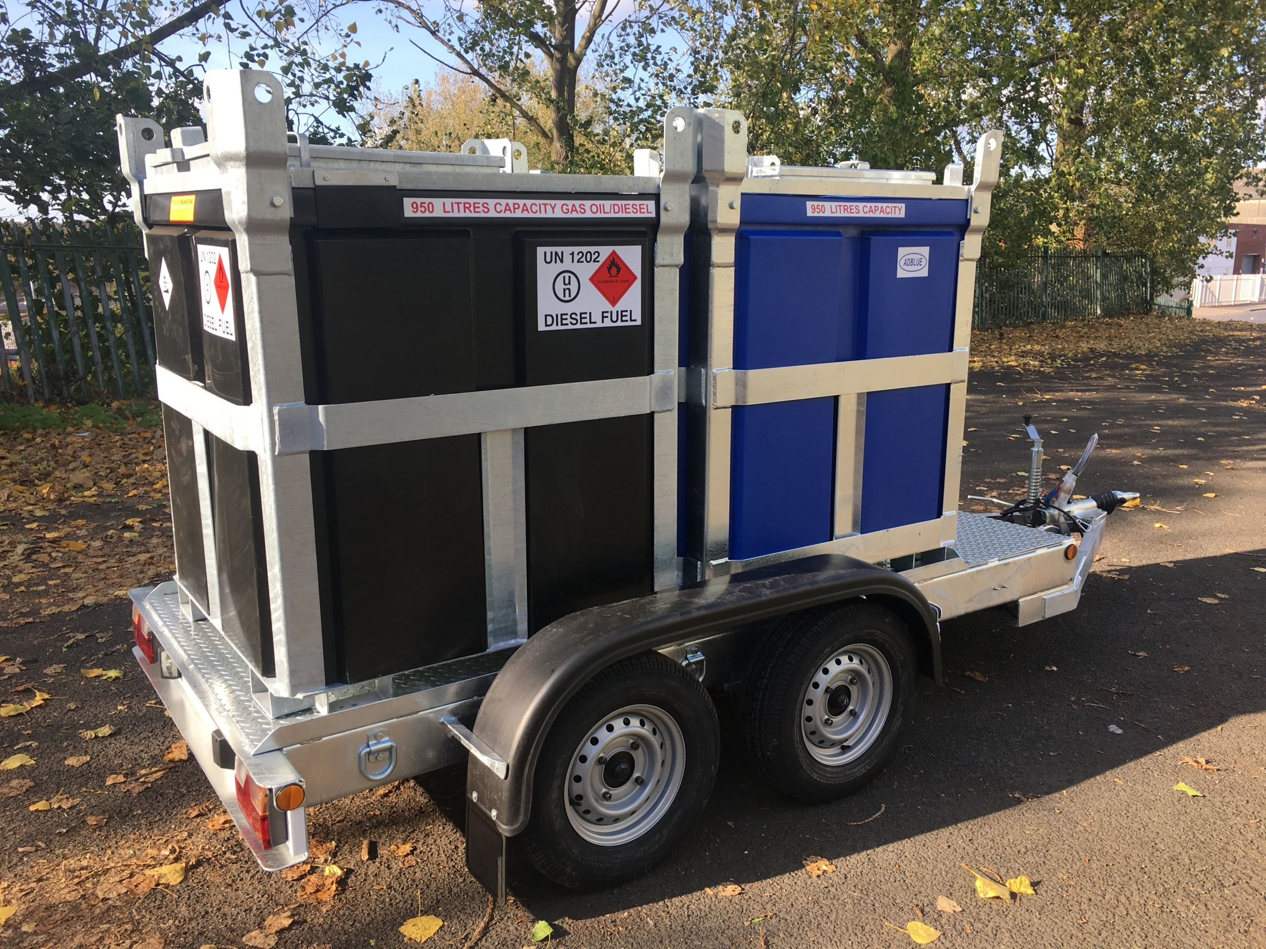 fuel cube trailer