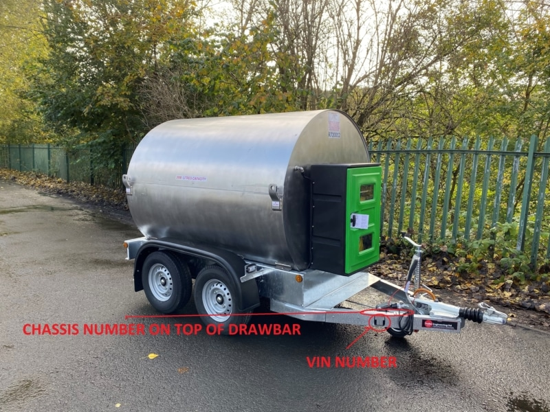 SELLAFIELD WATER BOWSER WITH VIN NUMBER What is a Bowser? Trailer Engineering