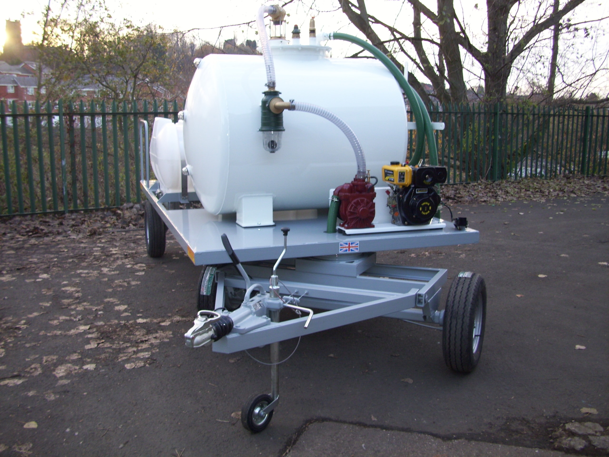 Stansted Vac tank And Pressure Washer Trailer 017
