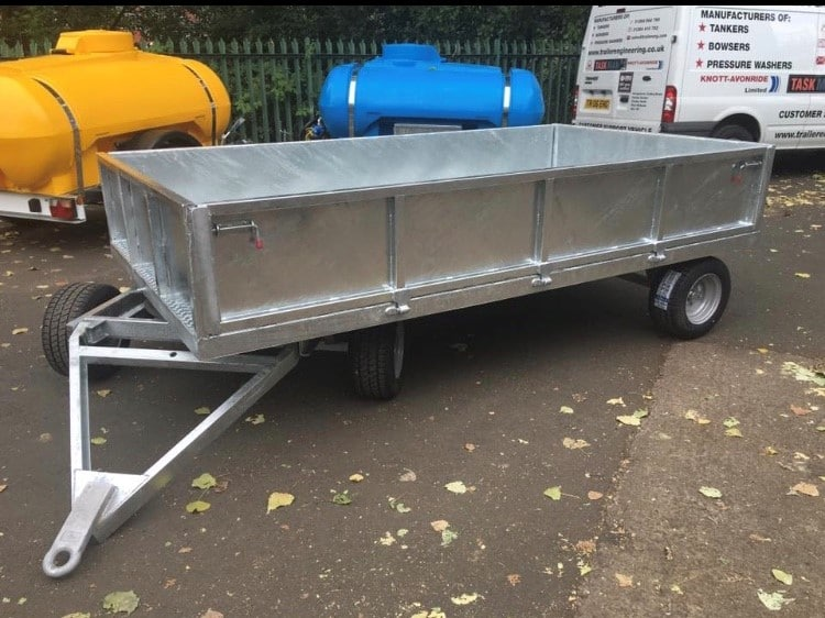 Turntable Site Trailer