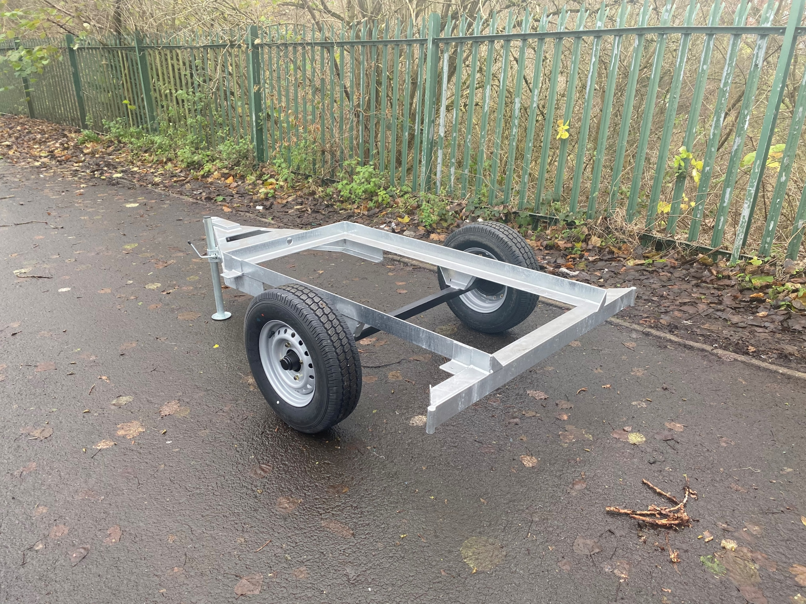 1125 Litre Water Bowser Site Tow Trailer