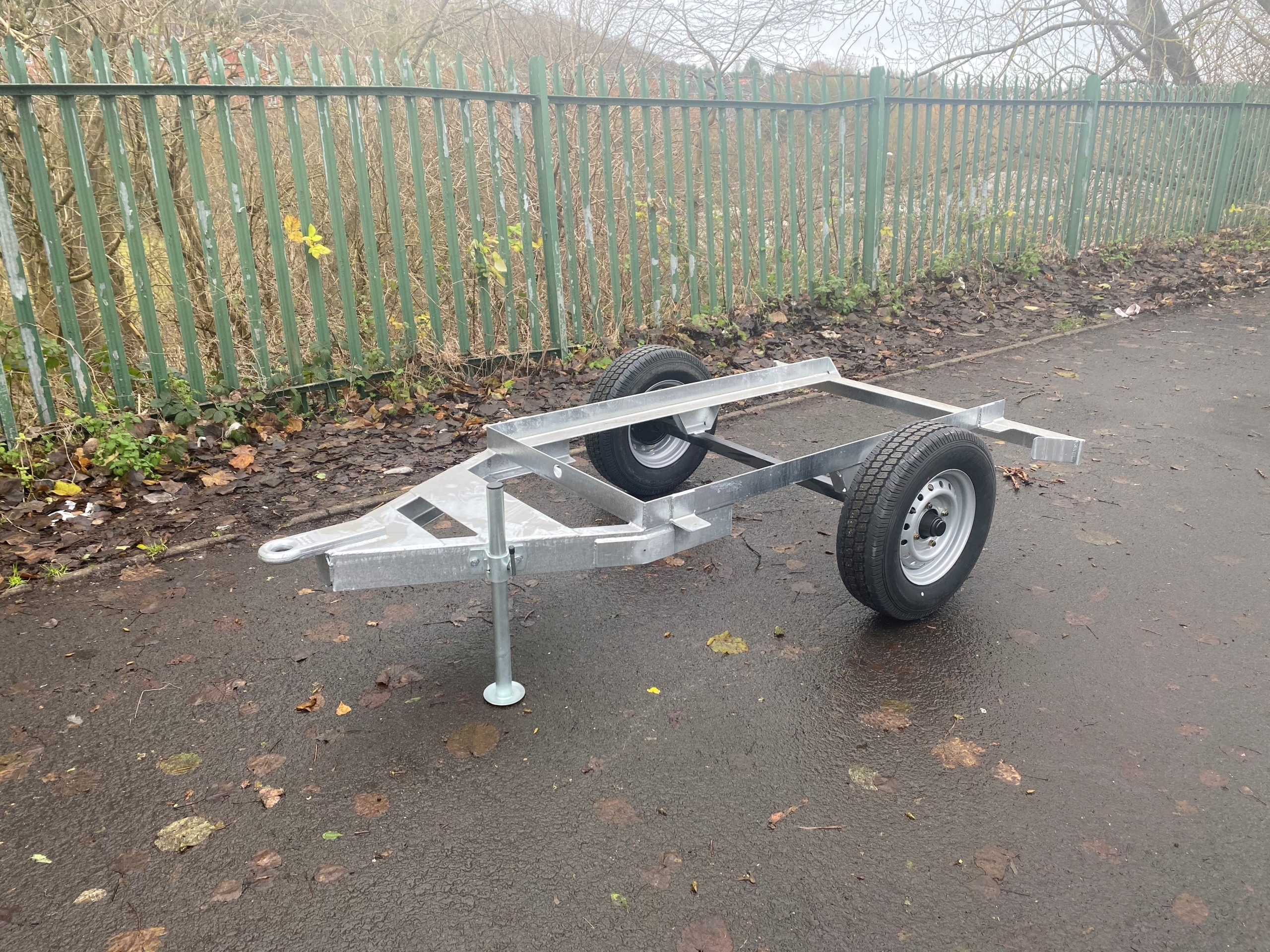 1125 Water Bowser Site Tow Trailer