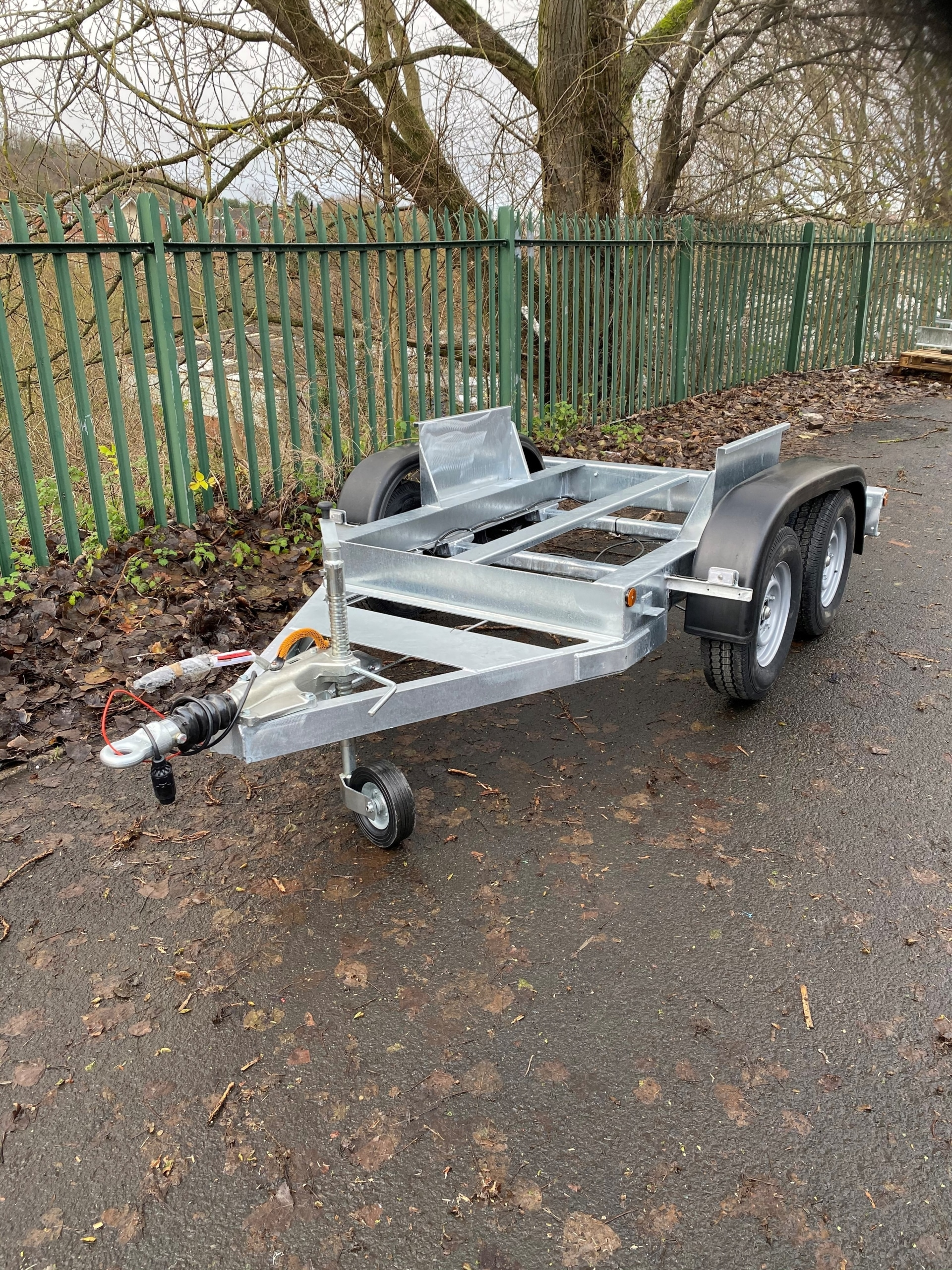 2000 Litre Twin Axle Highway Towable Water Bowser Trailer