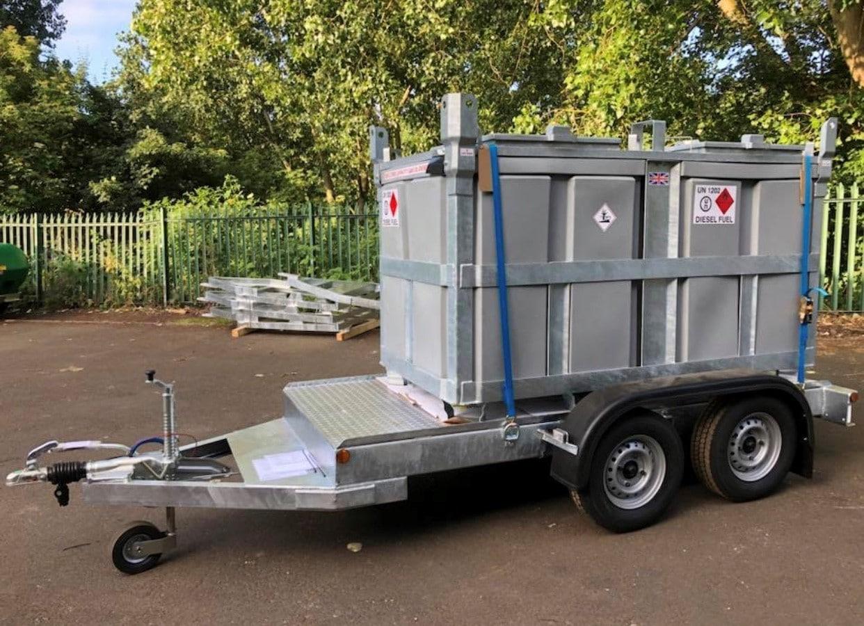 Canada Fuelcube trailer