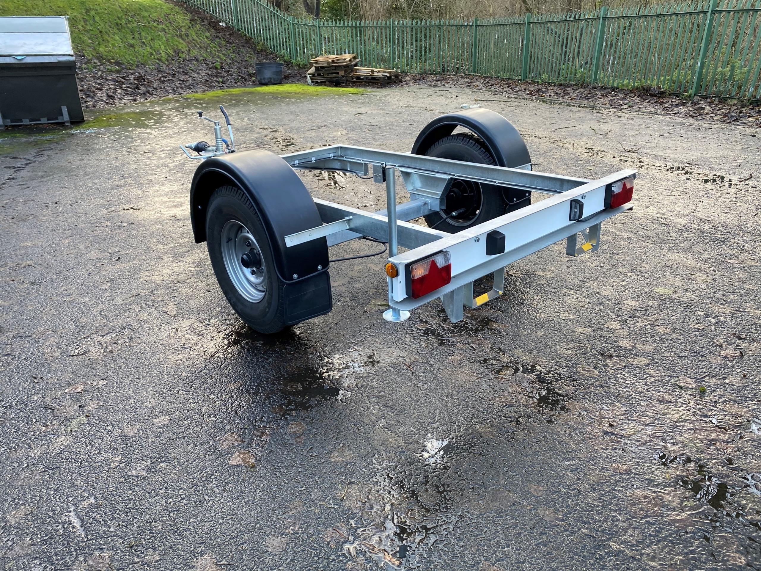 Rear 2140 Litre Fuel Bowser
