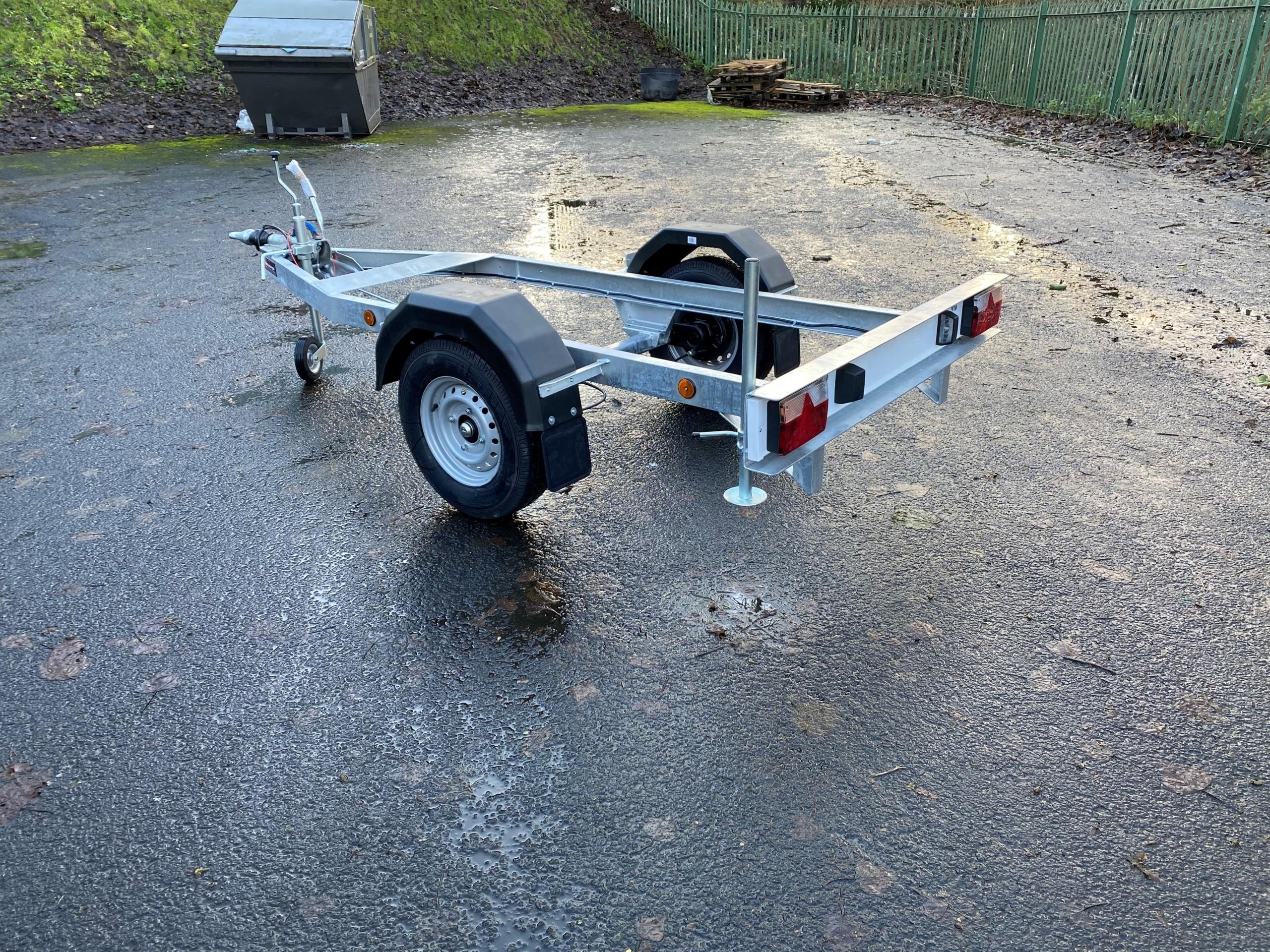 Rear 950 Litre Fuel Bowser Trailer