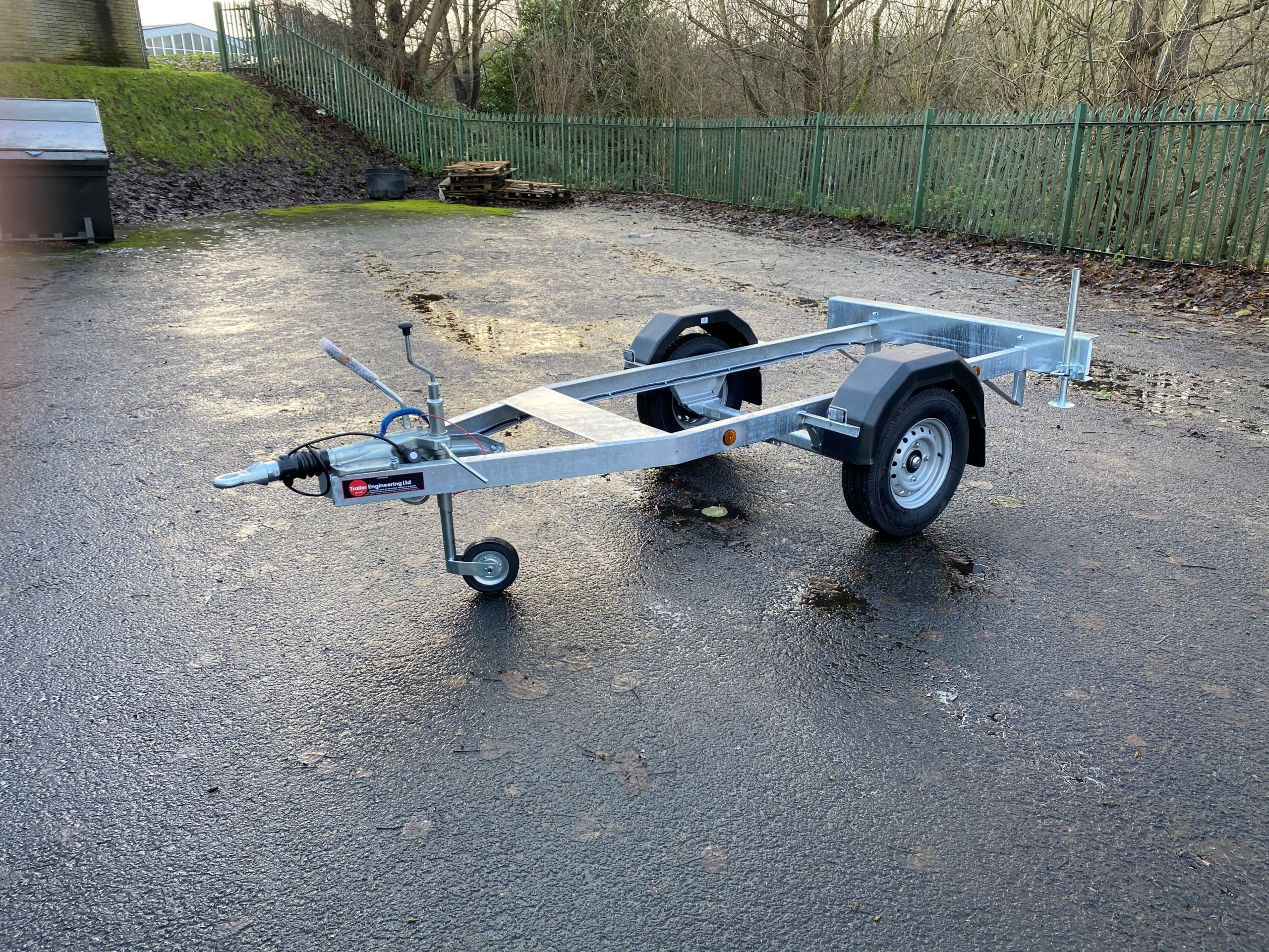 Road Tow Fuel Bowser Trailer