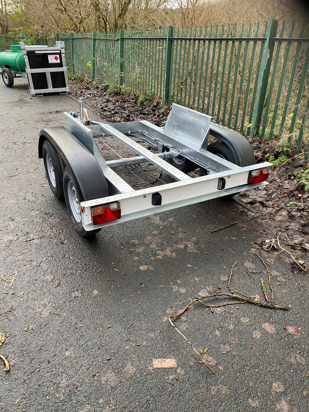 Twin Axle Water Bowser Trailer