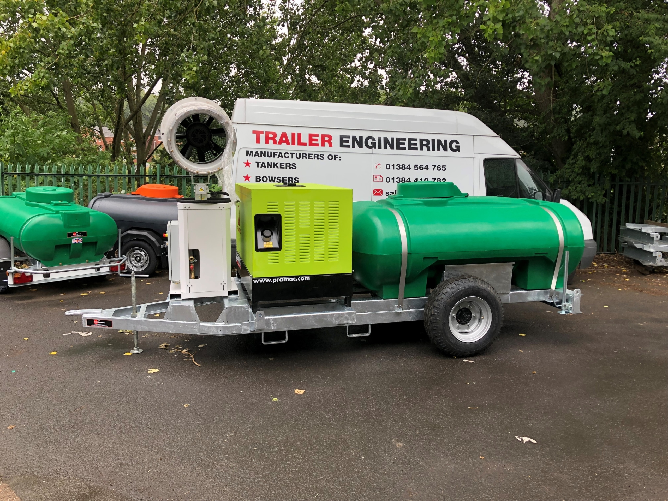 Air Spectrum Site Tow Water Bowser Dust Cannon