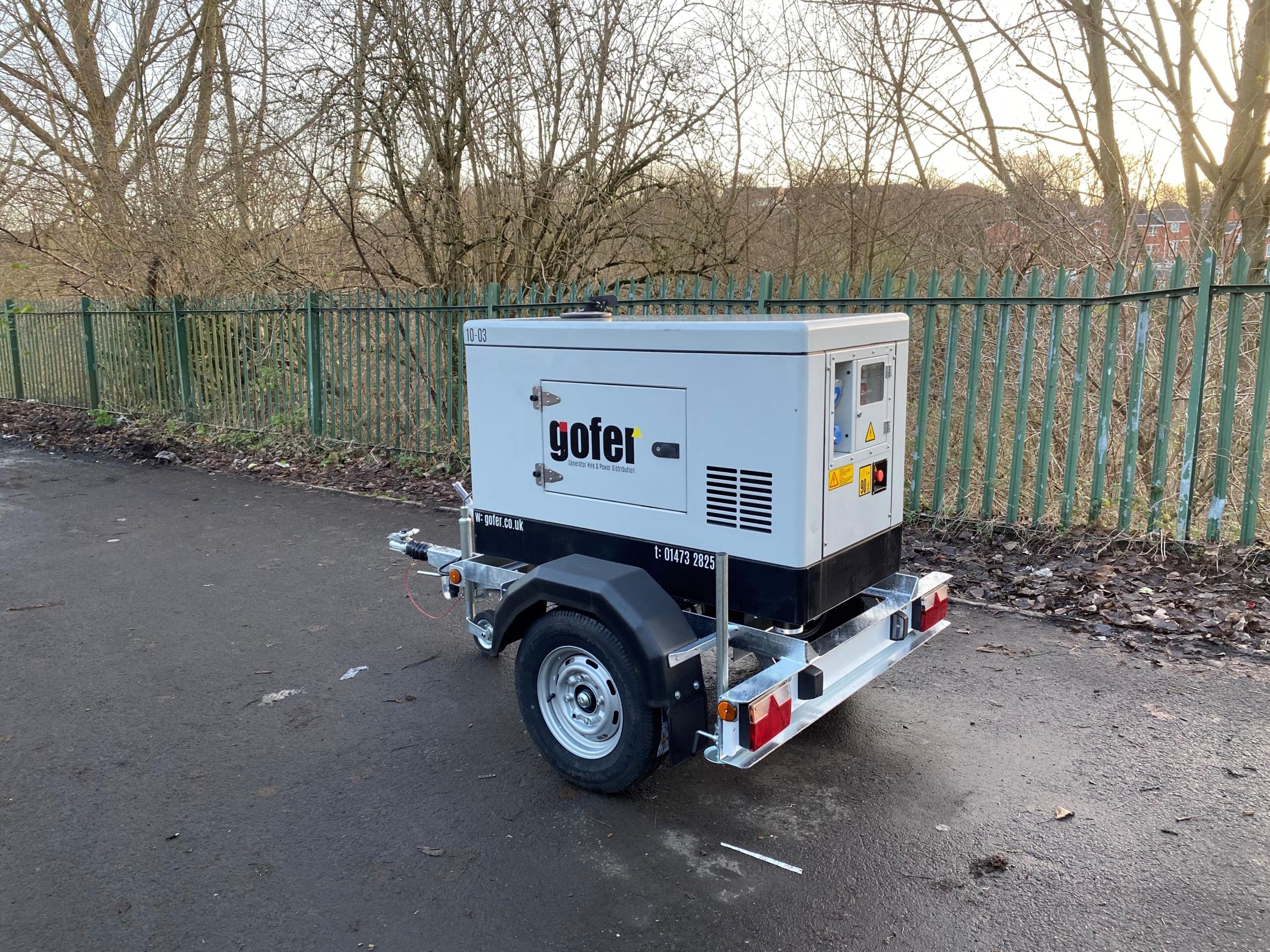 Himoinsa HYW13 Generator Trailer