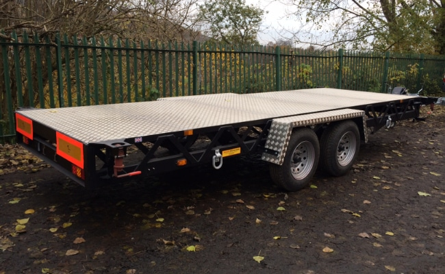 Twin Axle Container Trailer