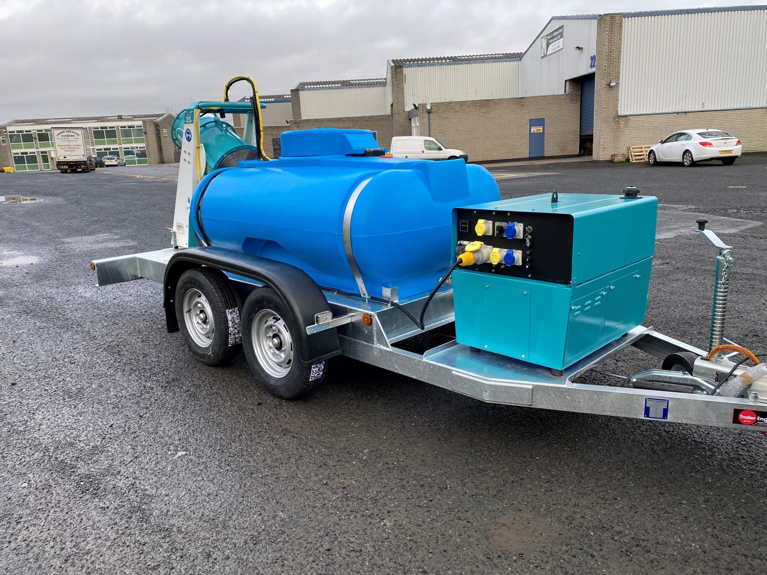 Marsh Machinery Water Bowser With Dust Cannon For Dust Suppression