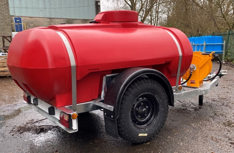 2000 Litre Fire Fighting Water Bowser With Honda Water Pump