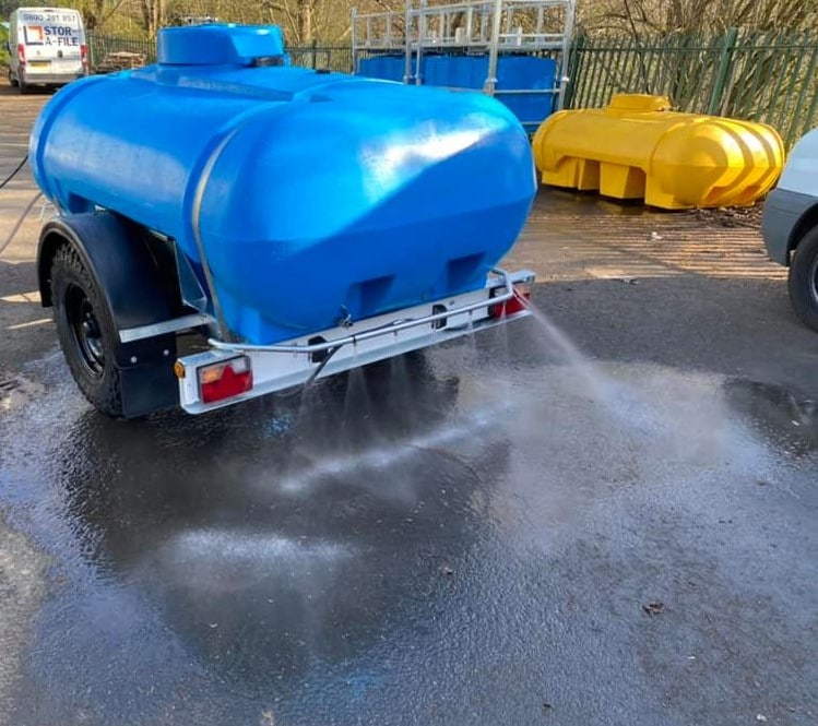 2000 litre highway tow disinfectant water bowser 2 PROJECT S Trailer Engineering