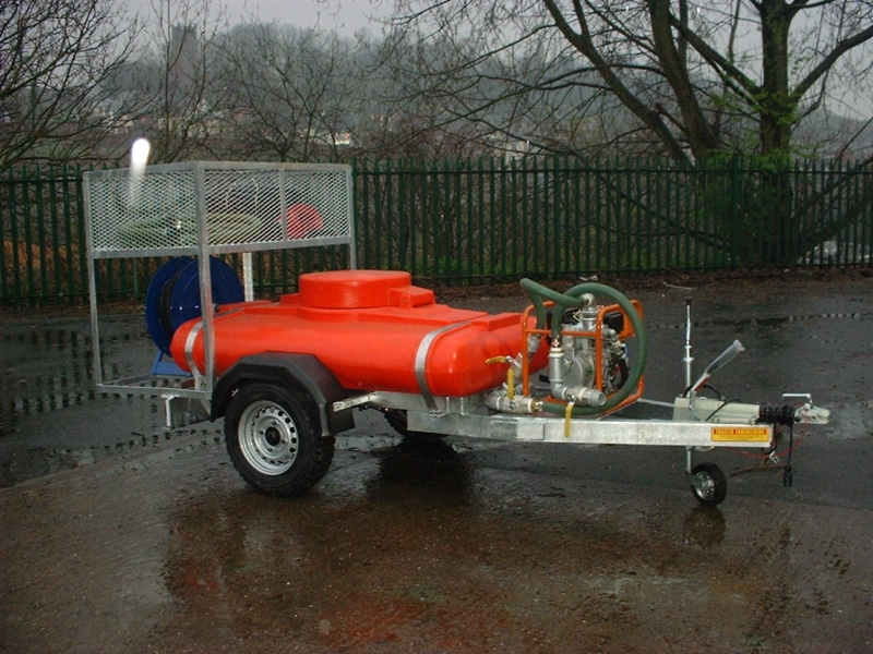 London Borough Of Ashtead Common Fire fighting water Bowser