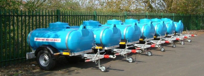 Water bowsers for events and festivals