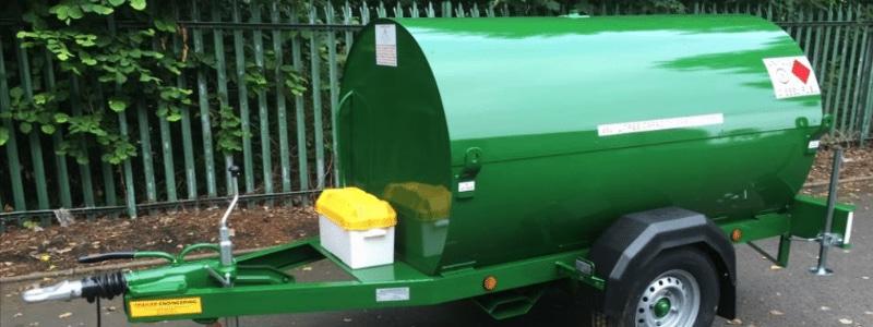 Plant Hire fuel bowser
