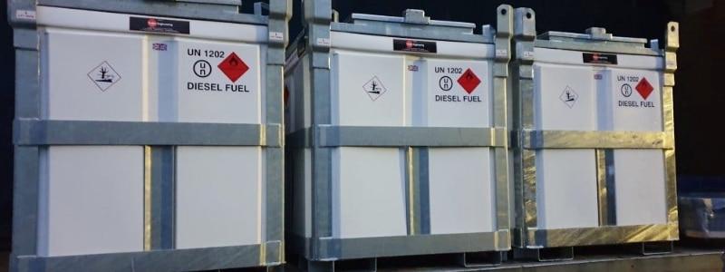 Diesel Fuel Cube